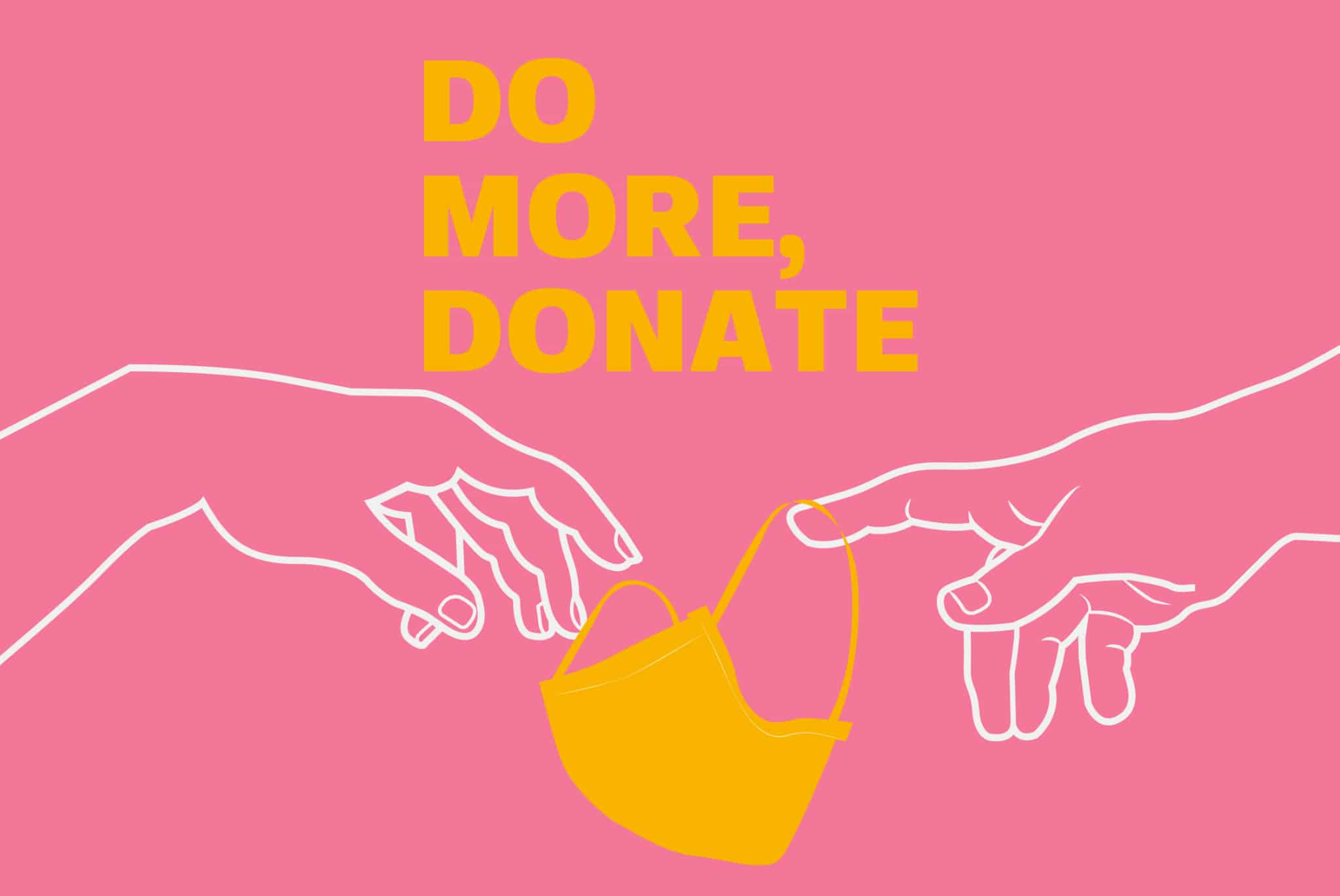 DO MORE, DONATE